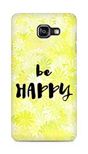 AMEZ be happy Back Cover For Samsung Galaxy A5 (2016 EDITION)