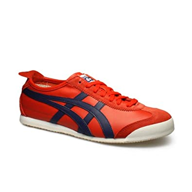 Onitsuka Tiger Mexico 66 Red Trainers by Onitsuka Tiger