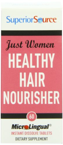 Superior Source Just Women - Healthy Hair Nourisher Tablets, 60 Count