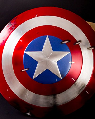 Gmasking 2015 Captain America Adult Shield 1:1 Collectibles Replica