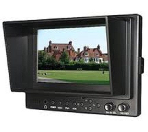 """Lilliput 569Gl-50Np/Ho/Y 5"""" Tft 16:9 Lcd Field Monitor Hdmi In & Out For Full Hd Video Camera 1920X1080"""