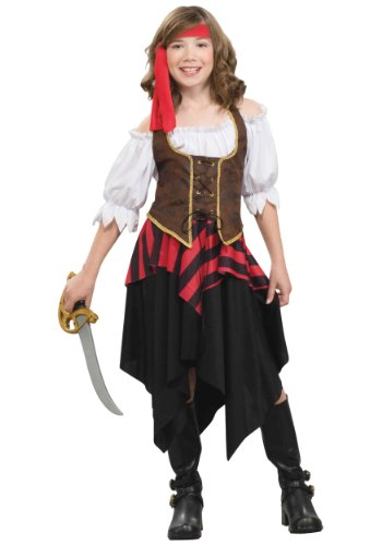 Big Girls' Buccaneer Sweetie Costume