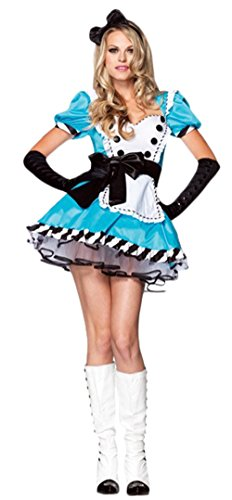 Ace Halloween Adult Women's Sexy Alice in Wonderland Princess Costumes