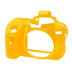easyCover Silicone Camera Case for Nikon D5300 - Yellow