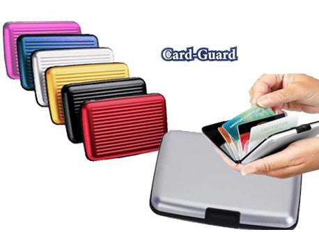 Card Guard Aluminum Wallet/Credit Card Case (Assorted Colors)