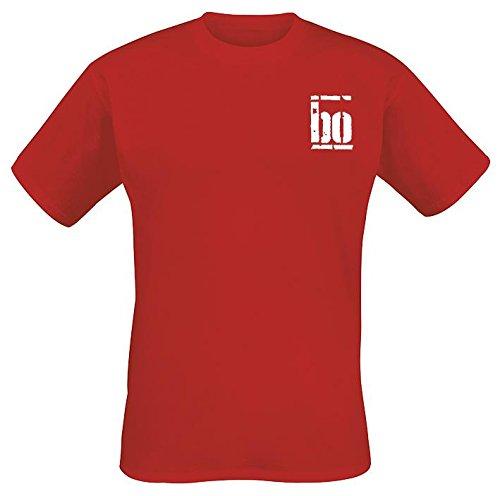 Böhse Onkelz Rocker T-Shirt rosso XL