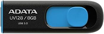 3-Pks. ADATA UV128 8GB USB 3.0 Flash Drive