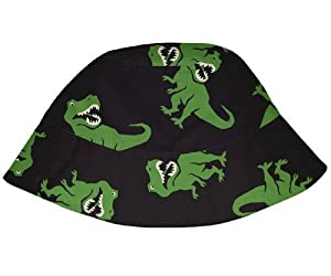 Baby Boys Mod Infant and Toddler Bucket Sun Protection Hat by Iplay,6-18 Months,Black T-Rex Color: Black T-Rex Size: 6-18 Months (Baby/Babe/Infant - Little ones) de i play.