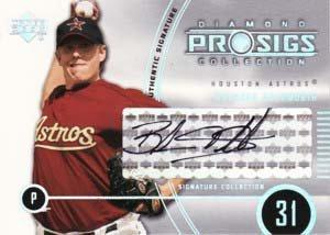 ブランドン ダックワース/Brandon Duckworth 2004 Upper Deck Diamond Collection Prosigs Signature Collection
