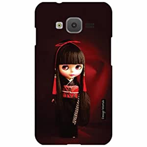 Design Worlds Samsung Z1 Back Cover - Doll Designer Case and Covers