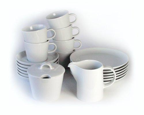 arzberg cucina basic weiss kaffeeset 20 tlg. Black Bedroom Furniture Sets. Home Design Ideas