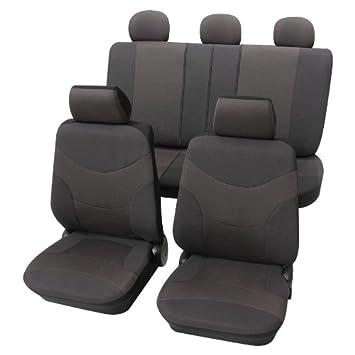 Sitzbezüge Schonbezüge Blau Komplettsatz Polyester für Citroen Skoda Mitsubishi