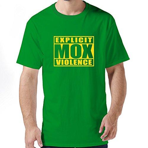 Men Explicit Mox Violence T Shirts/Fhy T Shirt