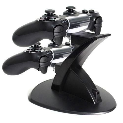 Led Dual Usb Controller Charger Dock Station Charging Stand For Playstation Ps4