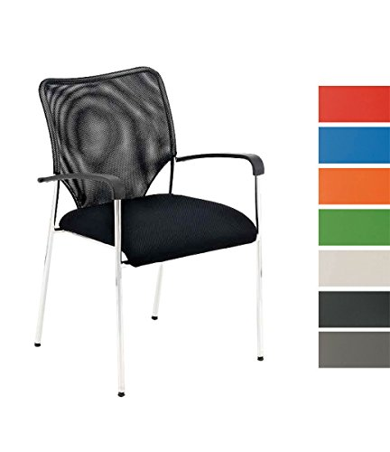 CLP-Stuhl-CUBA-mit-Armlehne-Stapelstuhl-Besucherstuhl-mit-gut-gepolsterter-Sitzflche-schwarz