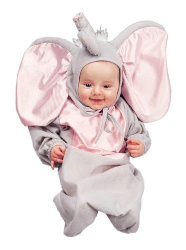halloween cute newborn baby elephant