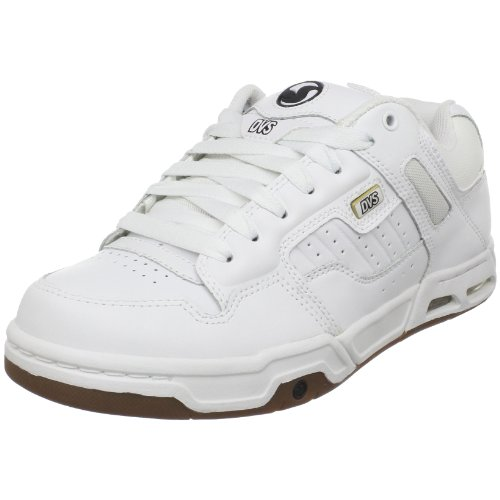 DVS Men's Enduro Heir Skate Shoe,White/Gum Leather,11.5 M US
