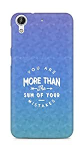 AMEZ you are more than the sum of your mistakes Back Cover For HTC Desire 626 G Plus