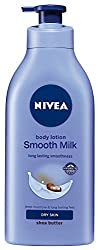 Nivea Smooth Milk Body Lotion For Dry Skin 400ml