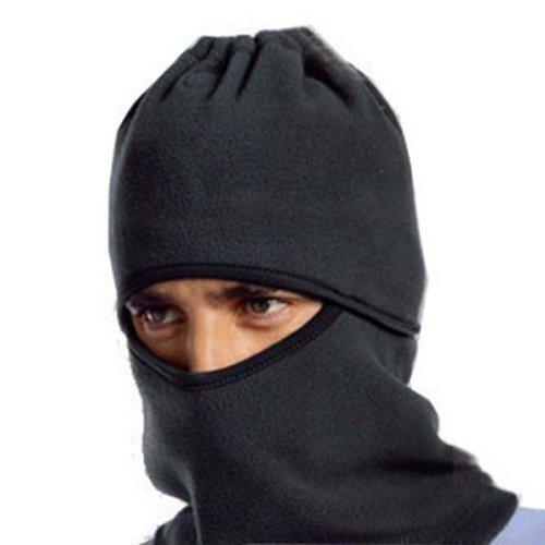 Zps Atv Ski Snowboard Winter Bicycle Bike Motorcycle Warm Neck Face Mask Cs Hat Cap Black