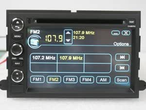 (2000-2005) Ford Excursion Navigation System & DVD Player with Radio (AM/FM),Bluetooth Hands Free,USB, AUX Input,(free Map),Plug & Play Installation