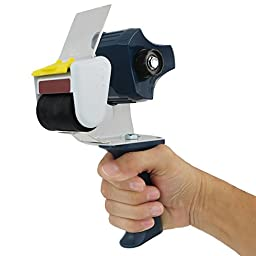 BRAND NEW Tape Dispenser W/ Gun-Grip By Totalpack|Premium Grade Wide Tape Gun For Packaging By Hand|For Boxes, Moving, Shipping, Regular Warehouse/Industrial/Office Use, Arts & Crafts & More 2-Inch