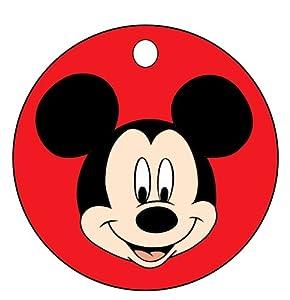 Amazon.com: Mickey Mouse Face Key Chain: Automotive