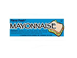 SCS Flavor Fresh Mayonnaise Packets - 9g - 200 Ct.