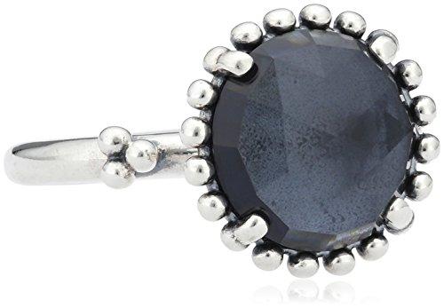 Pandora 190910NBC - Anillo de plata con cristal, talla 14