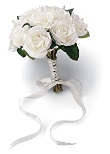 Wilton French Rose Wedding Natural Bouquet - Lesbian Wedding Planning