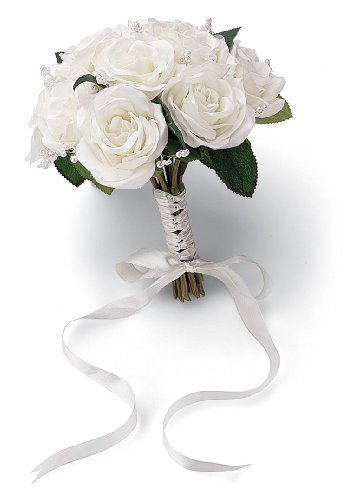 Wilton French Rose Wedding Bouquet, Natural
