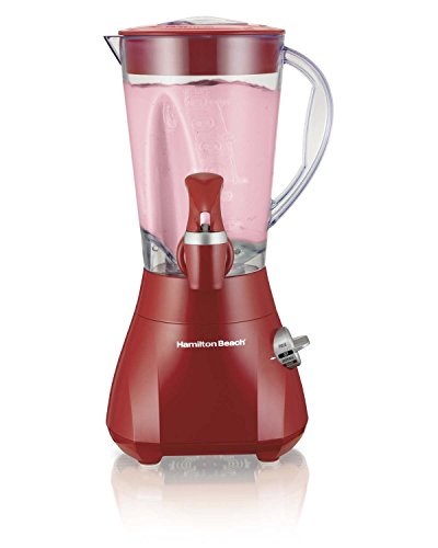 nue-hamilton-beach-54618-500w-wave-station-express-dispensing-countertop-blender-red