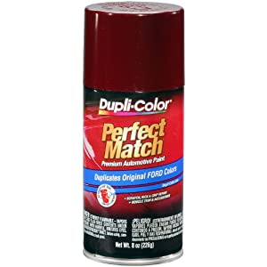 Amazon.com: Dupli-Color BFM0288 Dark Canyon Red Ford Exact-Match Automotive Paint - 8 oz