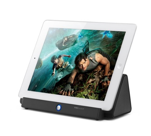 Favi Water Resistant Indoor/Outdoor Wireless Speaker For Ipad And Android Tablets, Black