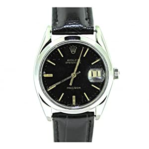 1950's Vintage Rolex Oysterdate Precision 6694 Stainless Steel Manual 34mm Watch