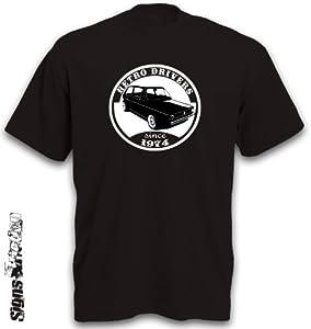 Golfshirt T-Shirt Motiv Golf 1 Youngtimer Shirt Gr. S