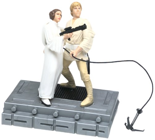 Luke Skywalker & Princess Leia Organa Swing To Freedom - Buy Luke Skywalker & Princess Leia Organa Swing To Freedom - Purchase Luke Skywalker & Princess Leia Organa Swing To Freedom (Star Wars, Toys & Games,Categories,Action Figures,Science Fiction & Fantasy Figures)