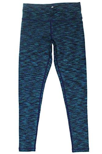 90 Degree By Reflex Fleece Lined Yoga Leggings - Secret Garden Space Dye XL
