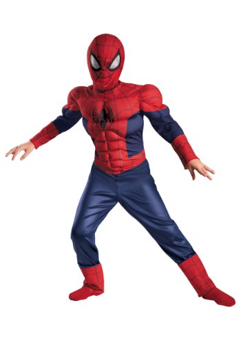 Ultimate Spider-Man Classic Muscle Kids Costume