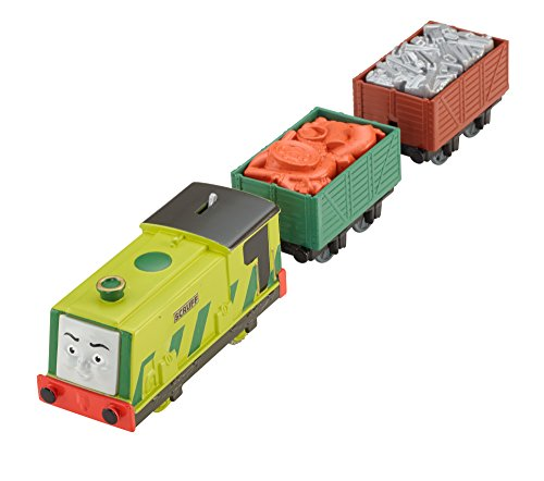 Fisher-Price Thomas the Train TrackMaster Motorized Scruff Engine
