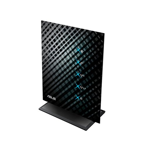 Asus Black Diamond Dual Band Wireless-N 600 SOHO Router, Fast Ethernet, 5 Guest SSID, Parental Access Time Control (RT-N53)