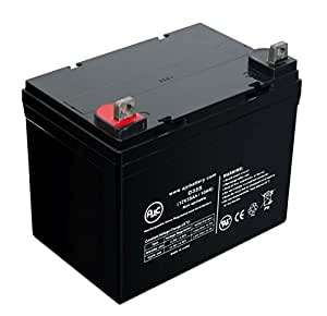 Invacare Pronto M41 12V 35Ah Wheelchair Battery - This is an AJC Brand® Replacement