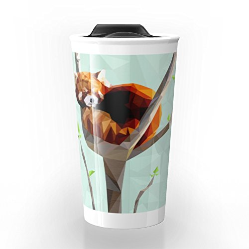 Red Panda Travel Mug 12 oz