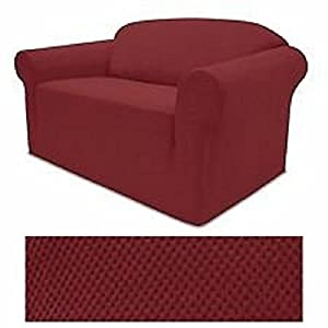 stretch form fit 3 pc slipcovers set couch