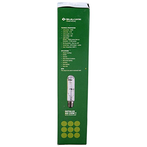 Bajaj-250W-MH-LED-Bulb-(Multicolor)