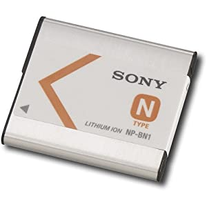 Sony NPBN1 Sony NP-BN1 Replacement Camcorder Batteries