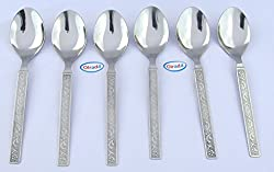 Olrada Stainless Steel High Quality 6 spoon