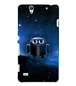 EPICCASE cute android Mobile Back Case Cover For Sony Xperia C4 (Designer Case)