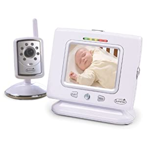 summer infant pictureme digital color video monitor white price baby monitor. Black Bedroom Furniture Sets. Home Design Ideas