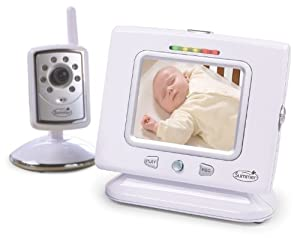 Summer Infant PictureMe Digital Color Video Monitor, White (Discontinued by Manufacturer)